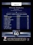 2011 Topps 60 #71 T-60 Willie Stargell  Back Thumbnail