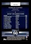 2011 Topps 60 #84 T-60 Starlin Castro  Back Thumbnail