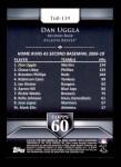 2011 Topps 60 #139 T-60 Dan Uggla  Back Thumbnail