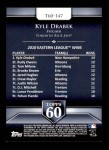 2011 Topps 60 #147 T-60 Kyle Drabek  Back Thumbnail