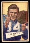 1952 Bowman Small #21  Bill Howton  Front Thumbnail