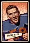 1952 Bowman Small #27  Robert Miller  Front Thumbnail