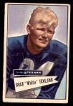 1952 Bowman Small #35  Brad Whitie Ecklund  Front Thumbnail