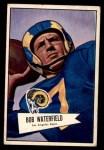 1952 Bowman Small #137  Bob Waterfield  Front Thumbnail