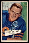 1952 Bowman Small #133  Robert Williams  Front Thumbnail