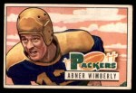 1951 Bowman #125  Abner Wimberly  Front Thumbnail