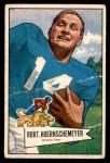 1952 Bowman Small #79  Bob Hoernschemeyer  Front Thumbnail