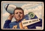 1952 Bowman Small #1  Norman Van Brocklin  Front Thumbnail