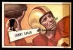1952 Bowman Small #30  Sammy Baugh  Front Thumbnail