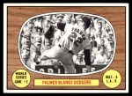 1967 Topps #152   -  Jim Palmer 1966 World Series - Game #2 - Palmer Blanks Dodgers Front Thumbnail