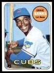 1969 Topps #20  Ernie Banks  Front Thumbnail