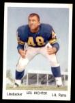 1959 Rams Bell Brand #16  Les Richter  Front Thumbnail