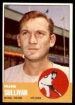 1963 Topps #389  Frank Sullivan  Front Thumbnail
