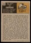 1971 Topps #245  Joe Greene  Back Thumbnail