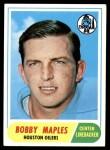 1968 Topps #16  Bobby Maples  Front Thumbnail