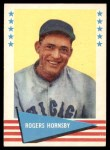 1961 Fleer #43  Rogers Hornsby  Front Thumbnail