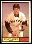 1961 Topps #237  Billy Loes  Front Thumbnail