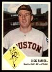 1963 Fleer #38  Dick Farrell  Front Thumbnail