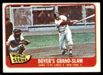 1965 Topps #135   -  Ken Boyer / Elston Howard 1964 World Series - Game #4 - Boyer's Grand Slam Front Thumbnail