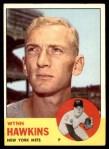 1963 Topps #334  Wynn Hawkins  Front Thumbnail