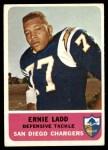 1962 Fleer #86  Ernie Ladd  Front Thumbnail