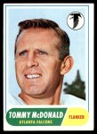 1968 Topps #99  Tommy McDonald  Front Thumbnail