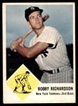 1963 Fleer #25  Bobby Richardson  Front Thumbnail