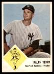 1963 Fleer #26  Ralph Terry  Front Thumbnail