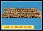 1962 Topps #89   Rams Team Front Thumbnail