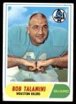 1968 Topps #68  Bob Talamini  Front Thumbnail
