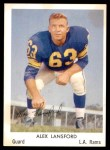 1959 Rams Bell Brand #23  Buck Lansford  Front Thumbnail