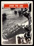 1965 Philadelphia War Bulletin #28   Over the Side Front Thumbnail