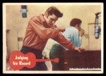1956 Topps / Bubbles Inc Elvis Presley #15   Judging His Record Front Thumbnail