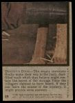 1975 Topps Planet of the Apes #19   Destiny's Door Back Thumbnail