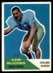 1960 Fleer #67  Sam McCord  Front Thumbnail
