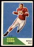 1960 Fleer #37  Gary Cobb  Front Thumbnail