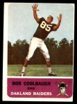 1962 Fleer #69  Bob Coolbaugh  Front Thumbnail