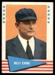1961 Fleer #22  Billy Evans  Front Thumbnail