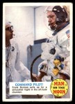 1969 Topps Man on the Moon #12 A  Command Pilot Front Thumbnail