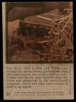 1975 Topps Planet of the Apes #23   The Key Back Thumbnail