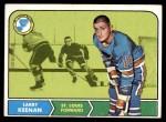 1968 Topps #115  Larry Keenan  Front Thumbnail