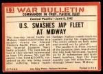 1965 Philadelphia War Bulletin #11   Victory at Sea Back Thumbnail