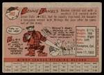 1958 Topps #392  Bennie Daniels  Back Thumbnail