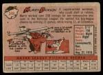1958 Topps #349  Murry Dickson  Back Thumbnail