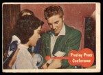 1956 Topps / Bubbles Inc Elvis Presley #7   Presley Press Conference Front Thumbnail