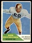 1960 Fleer #42  Bob Reifsnyder  Front Thumbnail