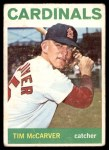 1964 Topps #429  Tim McCarver  Front Thumbnail