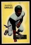 1955 Bowman #67  Edward Bell  Front Thumbnail