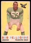 1959 Topps #16  Bob Pellegrini  Front Thumbnail