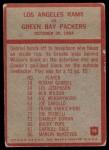 1965 Philadelphia #98   -  Harland Svare Los Angeles Rams  Back Thumbnail